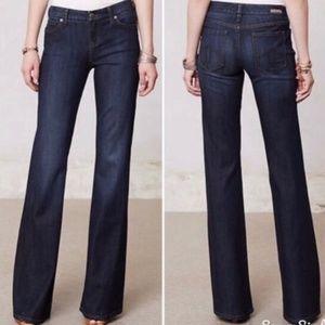 Level 99 Tanya High rise flare jeans sz 28 euc